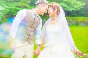 ウェディングフォト 結婚式前撮り 洋装