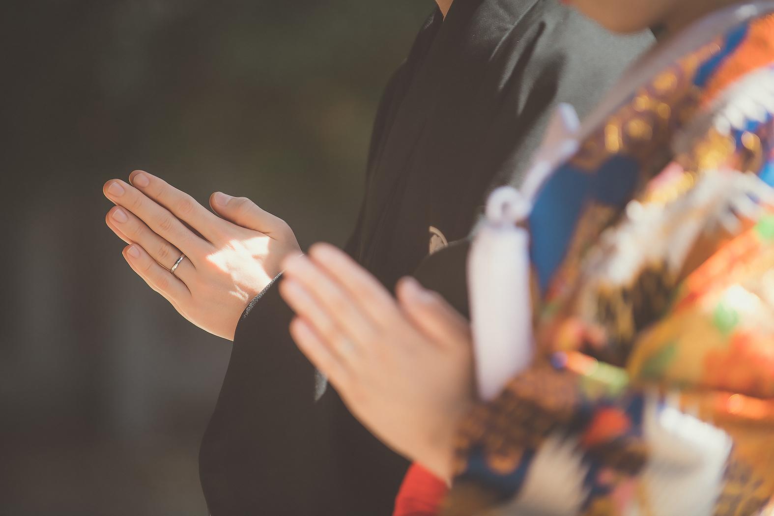 結婚式前撮り フォトウェディング 和装