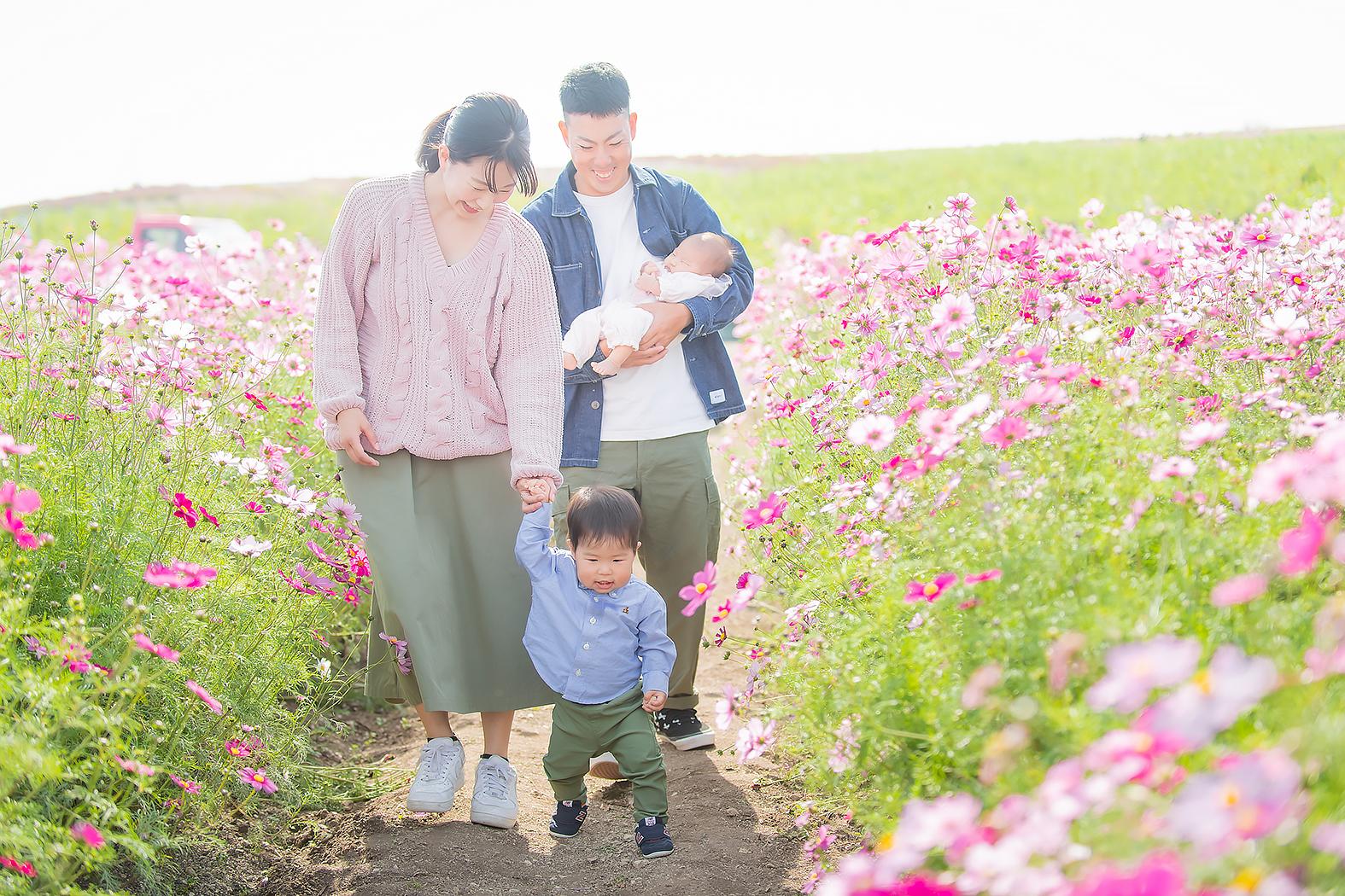 家族写真 記念写真