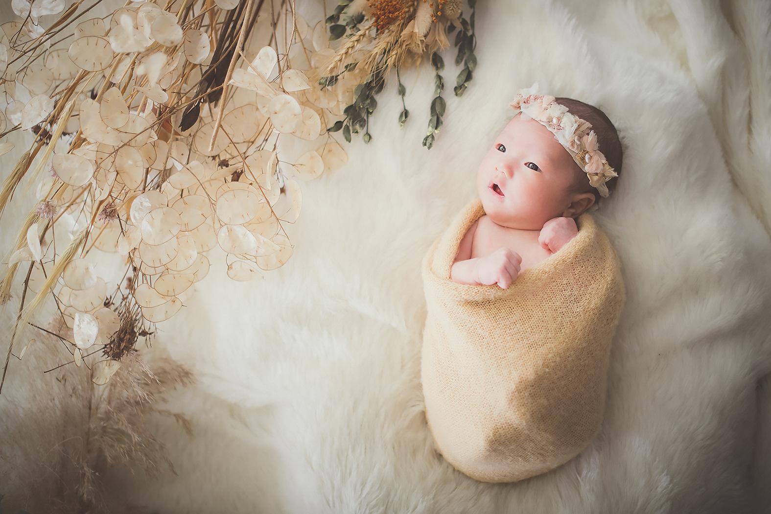 新生児フォト ニューボーンフォト 赤ちゃん