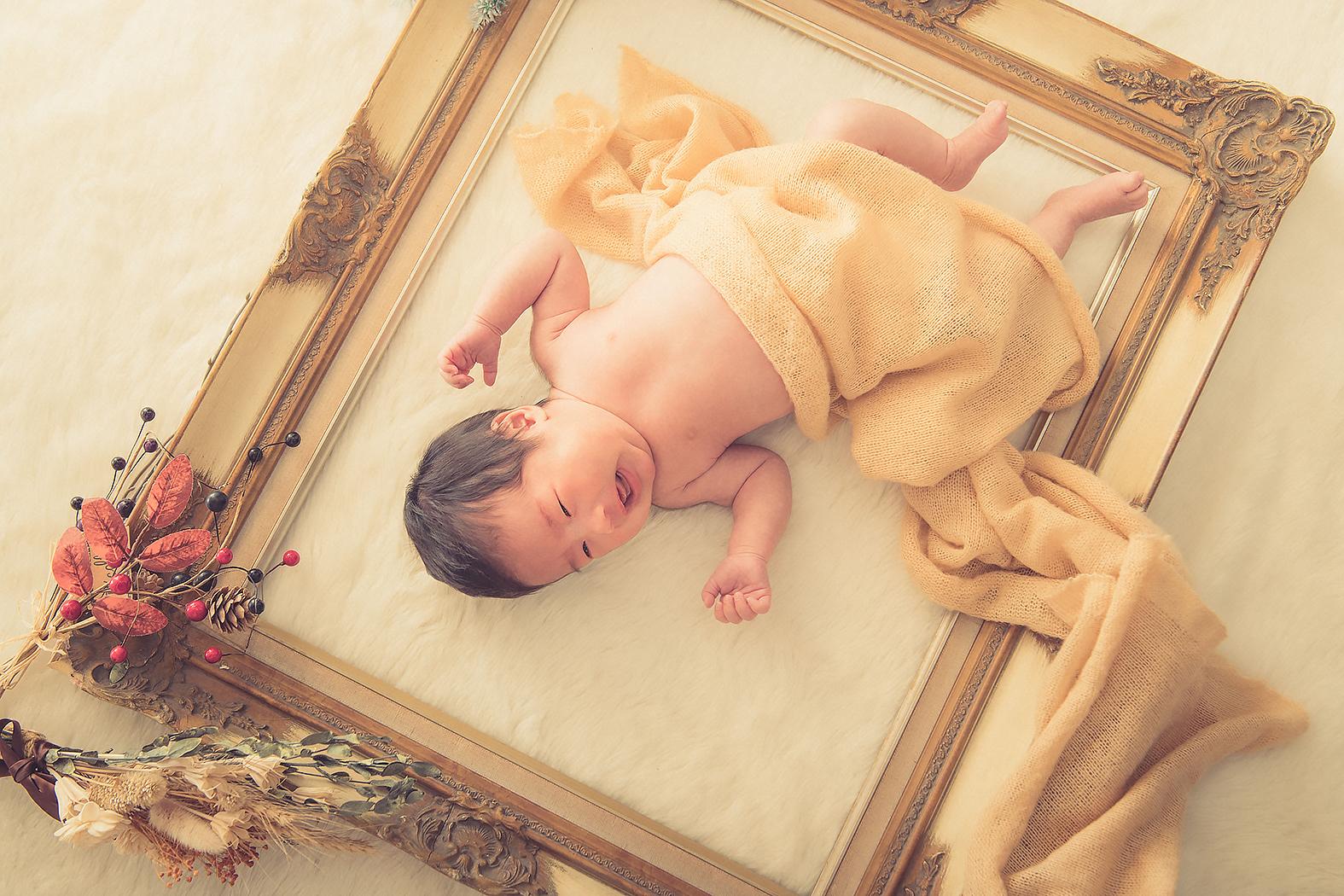 新生児 ニューボーンフォト 赤ちゃん