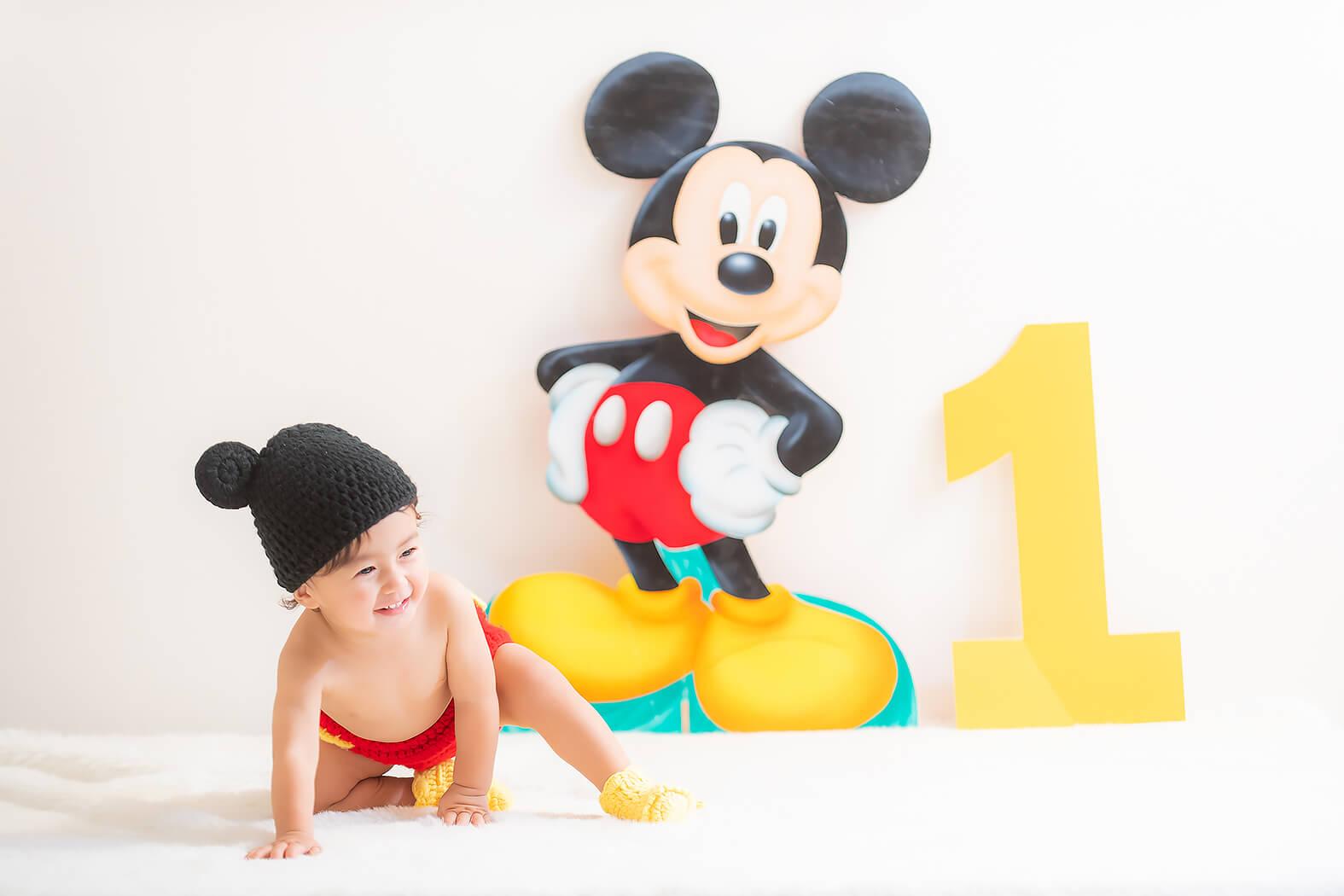 1歳記念 誕生日 バースデーフォト