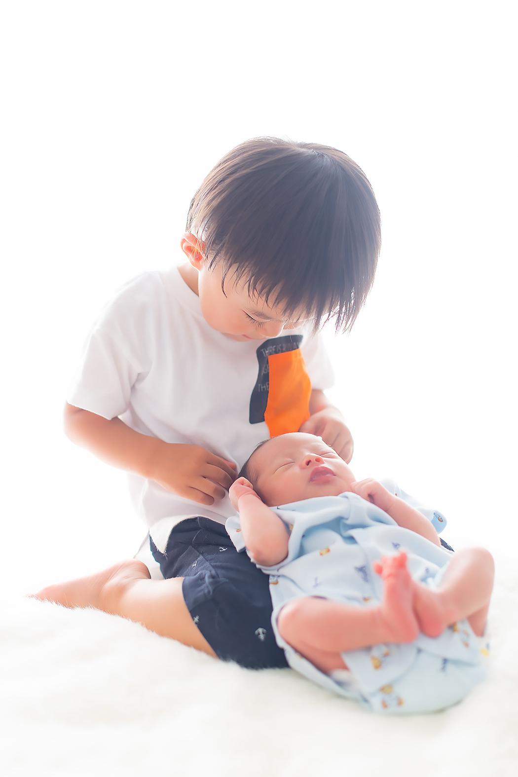 新生児フォト ニューボーン 出張撮影